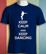 Keep Calm And Keep Dancing Gift Funny T Shirt - World Salsa Championships