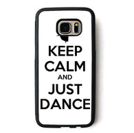 Keep Calm And Just Dance phone case for Samsung Galaxy S3 S4 S5 S6 S7 S8 S6 edge S7 edge Note 3 Note 4 Note 5 #B377 - World Salsa Championships