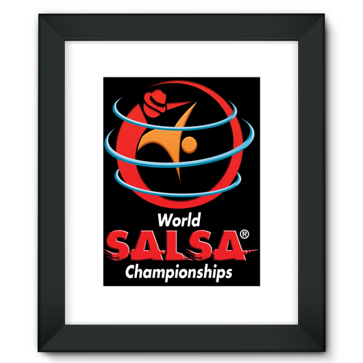 Framed Fine Art Print - World Salsa Championships