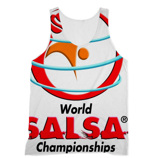 Sublimation Vest - World Salsa Championships