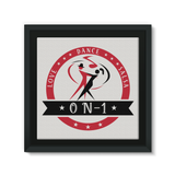 On-1 Framed Canvas - World Salsa Championships