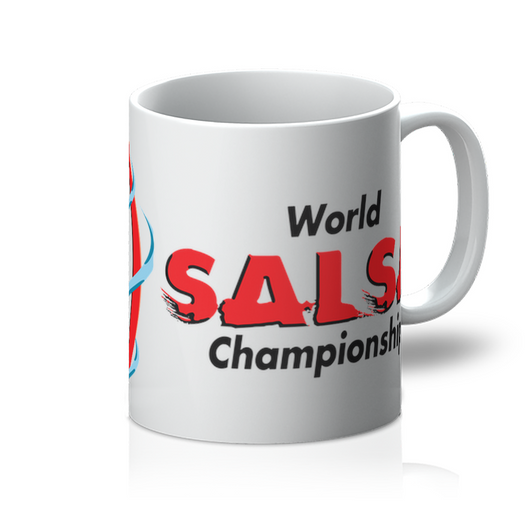 Mug With WSC Logo - world-salsa-championships