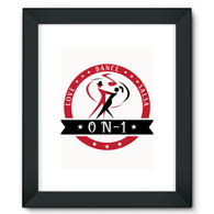 On-1 Framed Fine Art Print - World Salsa Championships