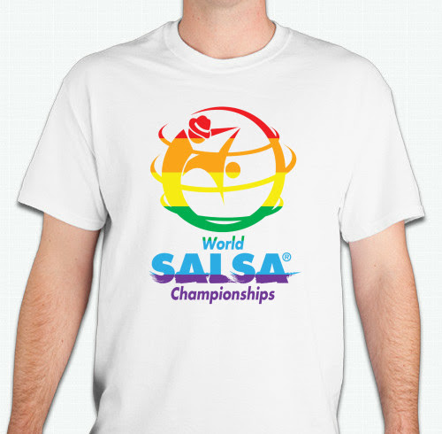 WSC Rainbow T-Shirt - World Salsa Championships