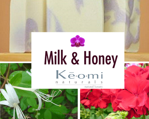 New Scent of Keomi Naturals Organic All Natural Handmade Soap!