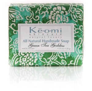 Organic Handmade Soap - Green Tea Goddess