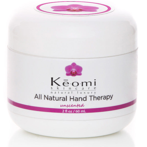 Keomi Naturals Organic & All Natural Hand Therapy - 2oz Unscented for dry chapped or eczema