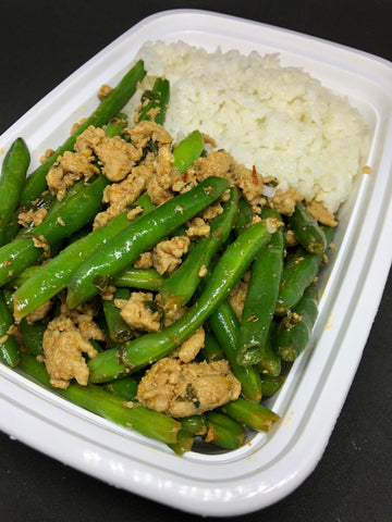 Chinese Green Beans & Turkey