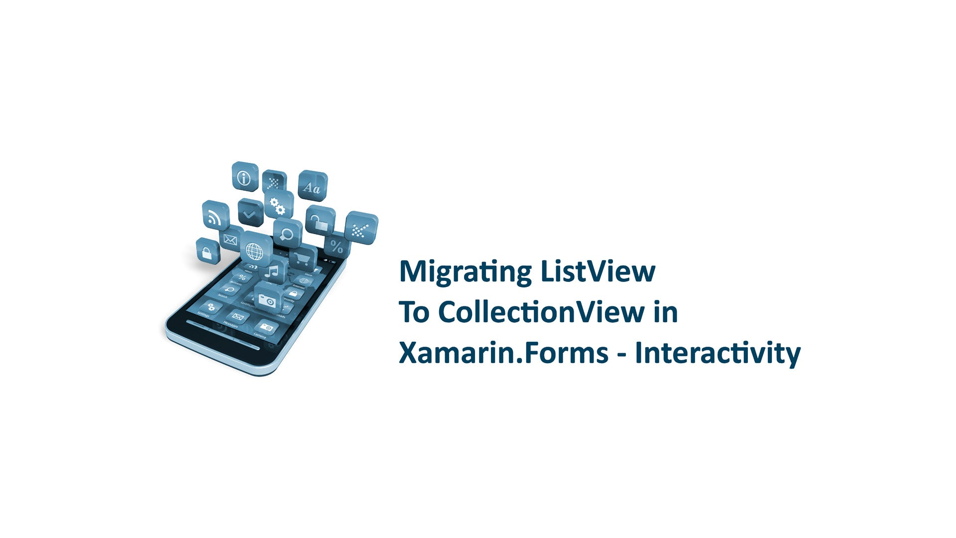Migrating ListView To CollectionView in Xamarin.Forms - Interactivity