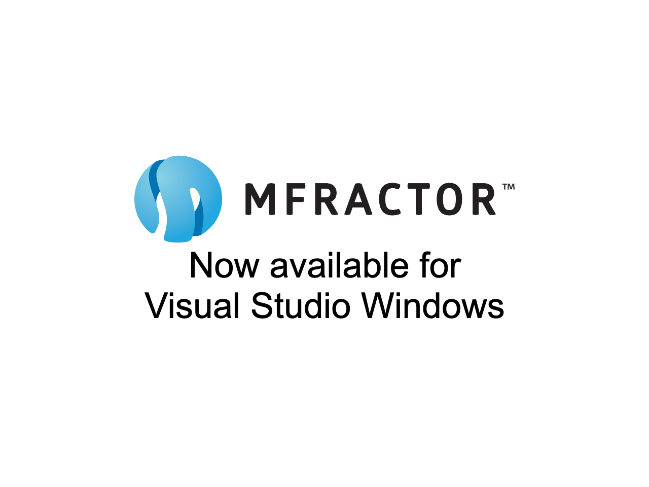MFractor For Visual Studio Windows Now Available