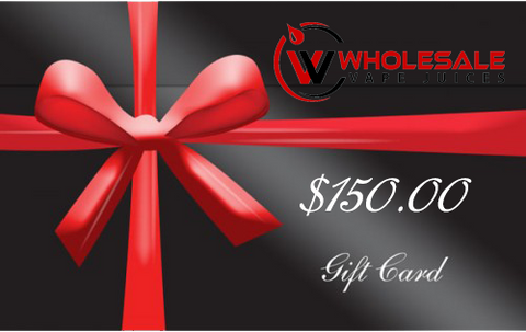 $150 WHOLESALE GIFT CARD $150.00
