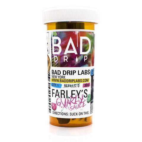 Bad Drips Farley's Gnarley Sauce Strawberry Kiwi Eliquid