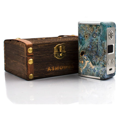 Minikin Kodama Edition Stabilized Wood Box Mod by asMODus