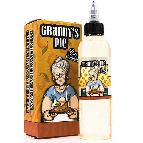 Grandma's Peach Cobbler Eliquid by Breakfast Classics