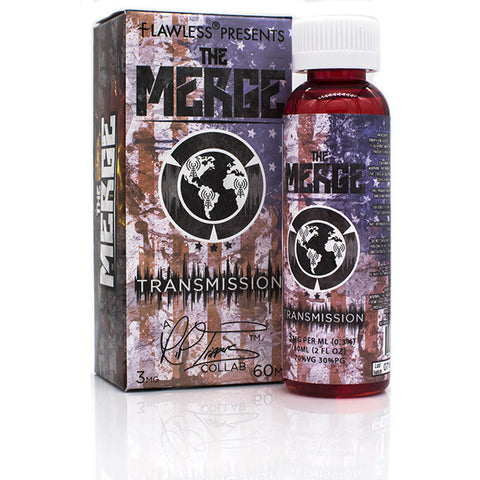 Transmission Eliquid by The Merge | Strawberry Watermelon Eliquid | Strawberry Watermelon Ejuice