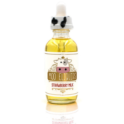 Strawberry Milk Eliquid by Moo Eliquids