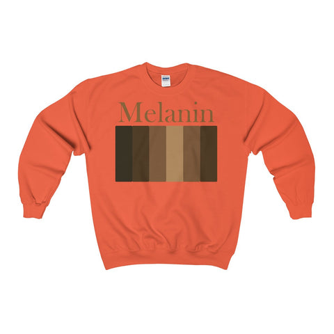 Melanin Heavy Blend™ Adult Crewneck Sweatshirt