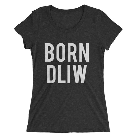 Born Wild Ladies' short sleeve t-shirt