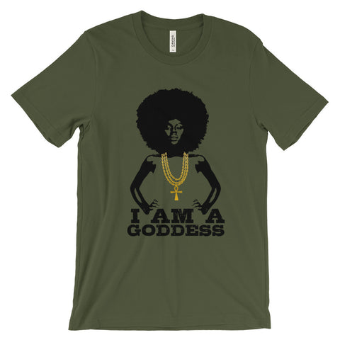 I AM A GODDESS TEE - Unisex short sleeve t-shirt