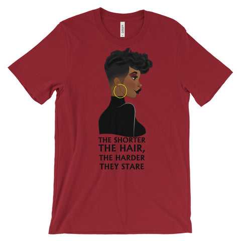 Short Hair - Unisex short sleeve t-shirt