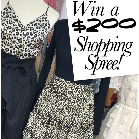 $200 Shopping Spree Giveaway!