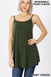 V-Neck/Scoop-Neck Cami