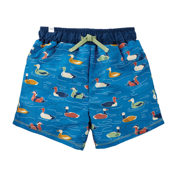 Toddler Duck Swim Trunks