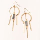Scout Dream Catcher Stone Earrings