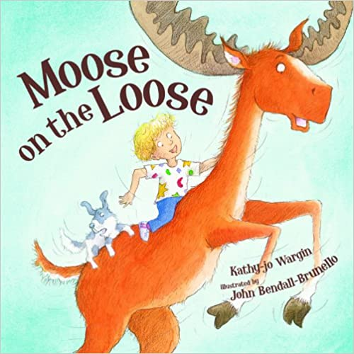 Moose on the loose Book