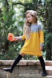 Kids Yellow and Grey Sweater