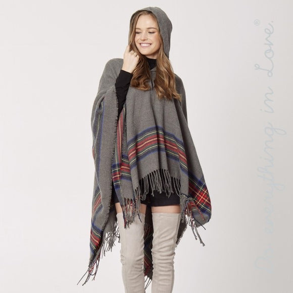 The Holiday Hooded Poncho