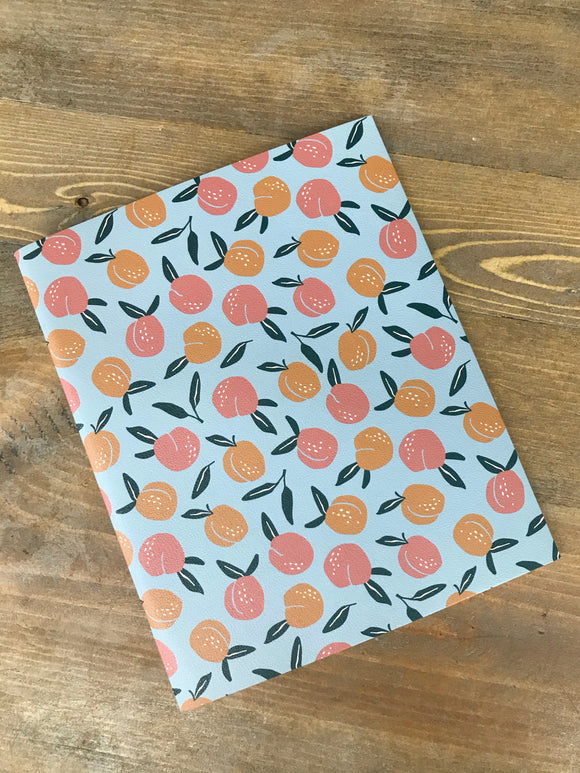Delicate Peach Boho Undated Monthly Planner