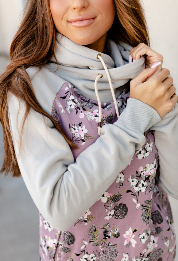 Lilac Love Single Hooded Sweatshirt