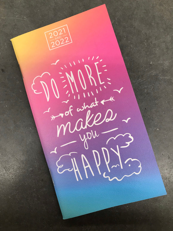 What Makes You Happy 2 Year Pocket Planner