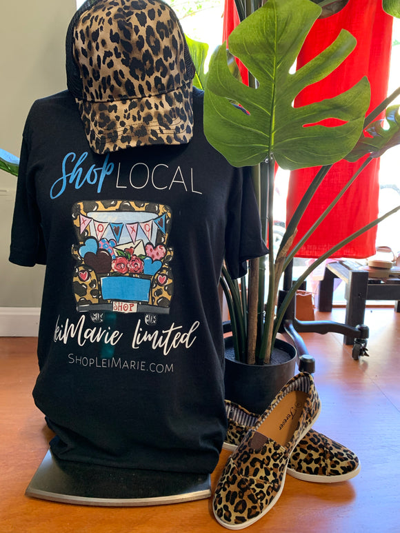 LeiMarie Shop Local Tee