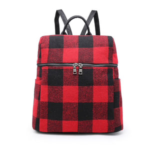 Buffalo Plaid Backpack