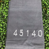 Smokey Zipcode Tea Towels