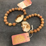 Scout Fossil of The Sea Bracelet