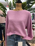 The Hailey Crop Sweater