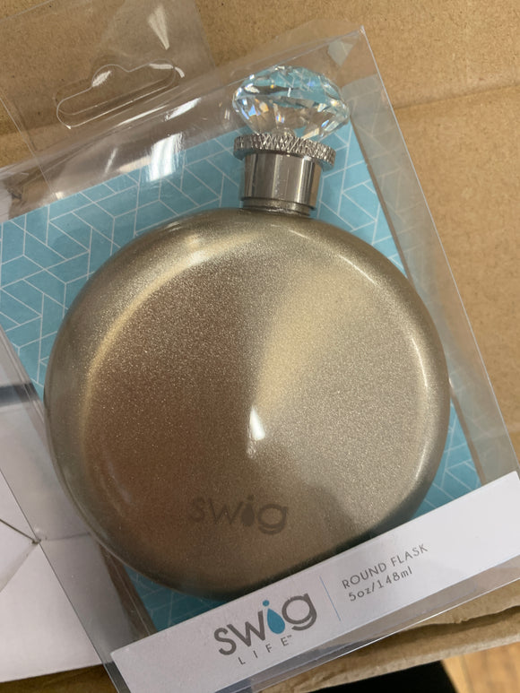 Swig Diamond Champagne Flask