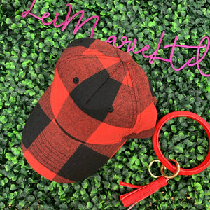 Buffalo Plaid Ball Cap