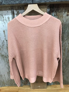 Madelyn Mauve Sweater