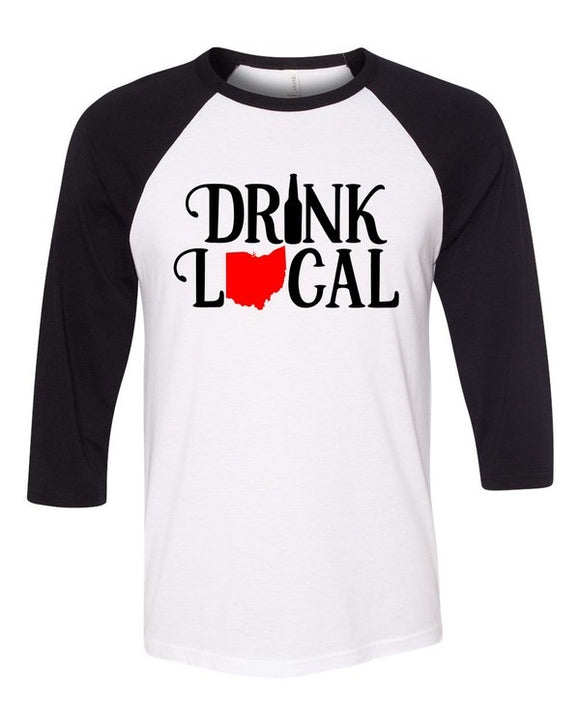 Drink Local Ohio Game Day Tee