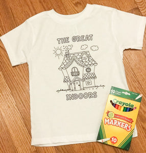 Kid's Coloring Tees