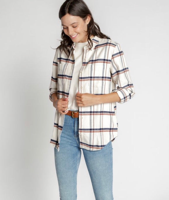Essential Relaxed Fit Pocket Flannel