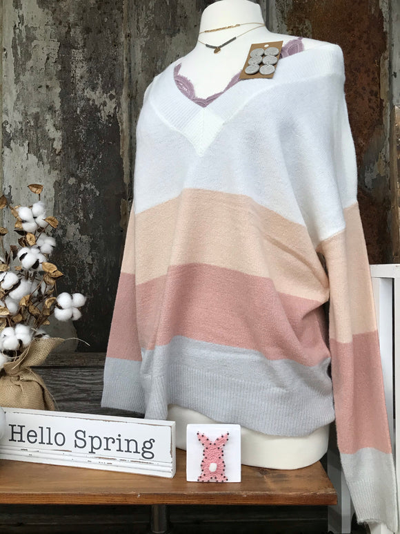 Penny Blush Pullover