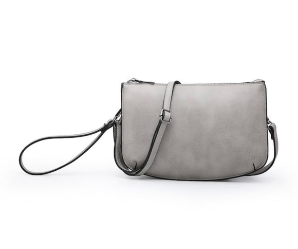 Double Compartment Crossbody Clutch Combo