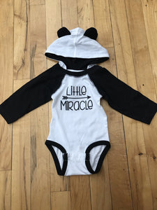 Little Miracle Hooded Bodysuit