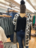 The Lana Leopard Poncho