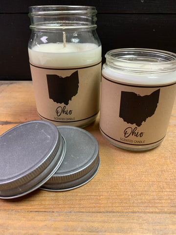 Ohio Scented Candle